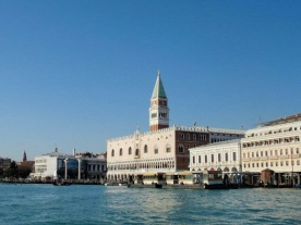View of the Palazzo Ducale from the Grand Canal